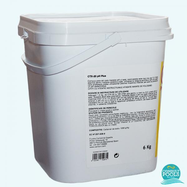 Corector ph plus CTX 20 6 kg