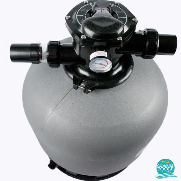 Filtru piscina D400 mm 6 mc/h  Emaux