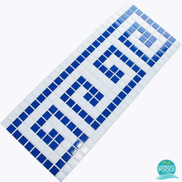 Friza mozaic sticla K59