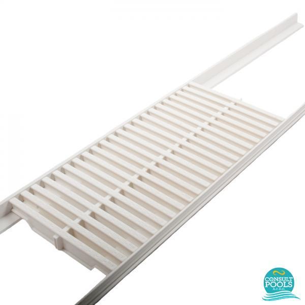 Gratar piscina perimetral ABS 245 mm