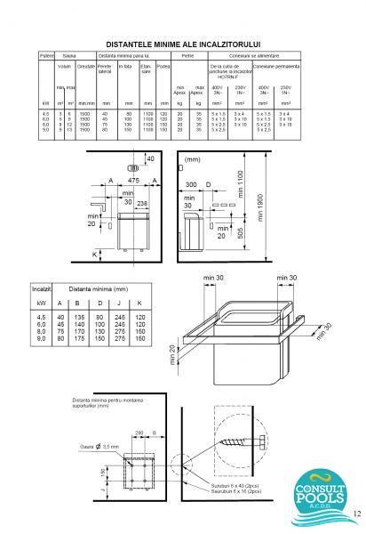 Incalzitor Helo ST 4,5 kw 04751