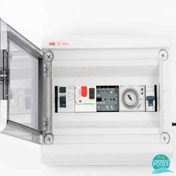 Panou de control pompa 1 1/4 HP si lumini PCM 1 1/4
