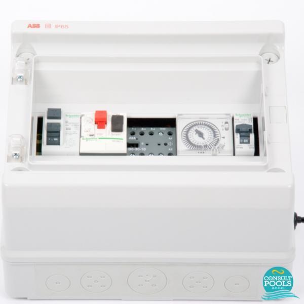 Panou de control pompa 1 HP si lumini PCM 1