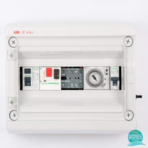 Panou de control pompa 3/4 HP si lumini PCM 3/4
