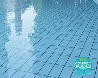 Placi ceramice piscina Turchese Chiaro