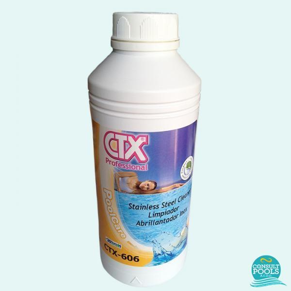 Solutie curatare inox CTX 606 1l