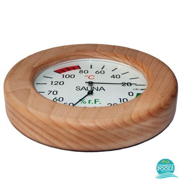 Termometru si higrometru sauna uscata HELO