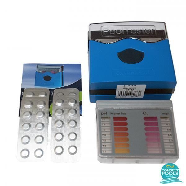 Tester ph si oxigen pentru piscina cu pastile