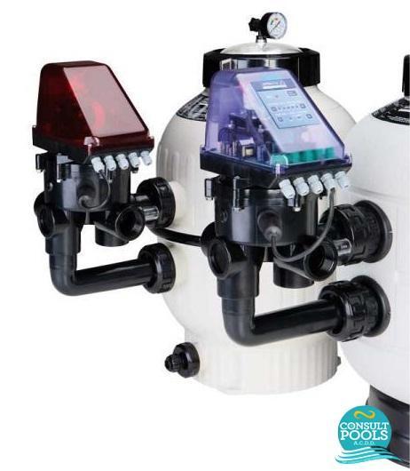 Vana multiport automata pentru filtru piscina 1 1/2