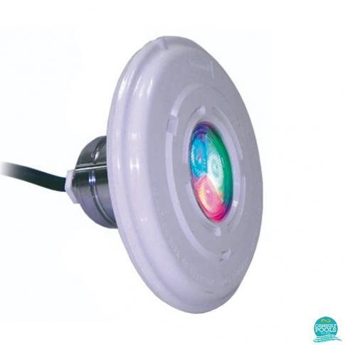 Proiector piscina cu leduri multicolore Lumiplus Mini 2.11 RGB , 4 W (7VA), 12VAC, IPX8, Astral Pool