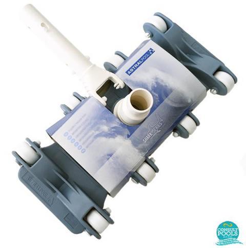 Cap aspirator manual cu roti Shark Astral Pool