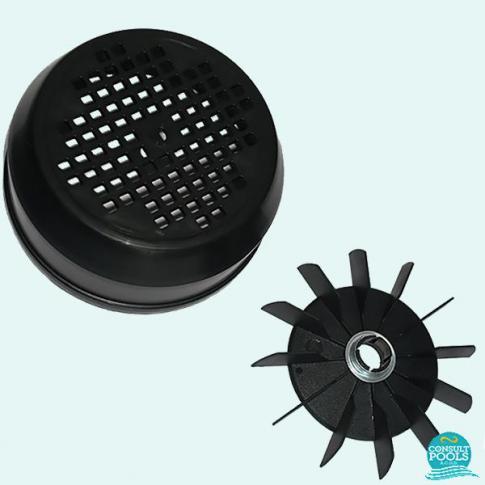 Capac si elice pompa piscina Victoria Plus 1.5 - 2 - 3 HP