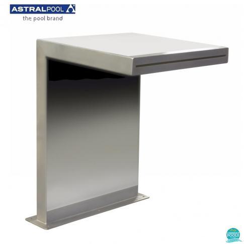 Cascada model drept AISI-316, 470 mm * 500 mm, 2
