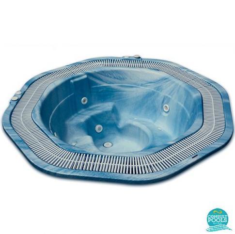 Casiopea spa, jeturi albe, leduri, Astral Pool