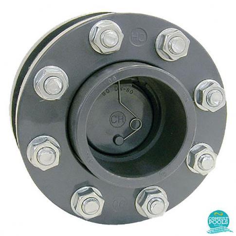 Clapeta de sens PVC U D160 EPDM