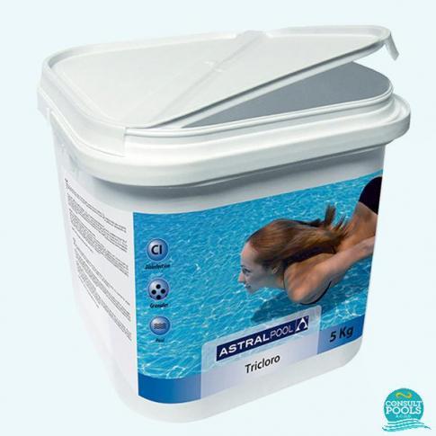 Clor lent granule Triclor 90% Astral Pool 5 kg
