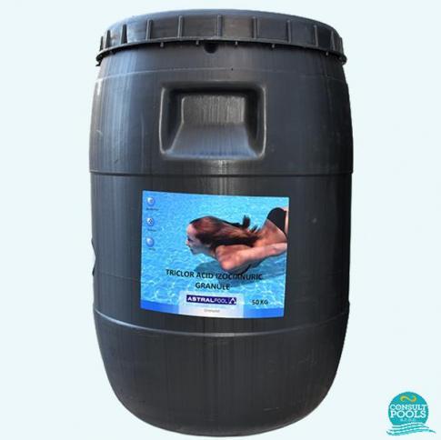 Clor lent granule triclor 90% Astral Pool 50 kg