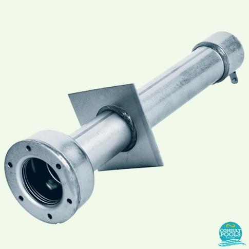 Conducta de perete inox AISI-304, liner, 440 mm, 1 1/2