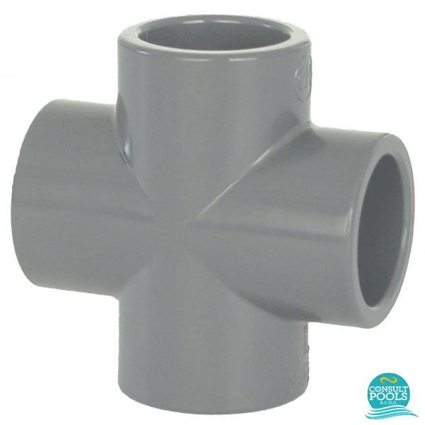 Cruce PVC U D63