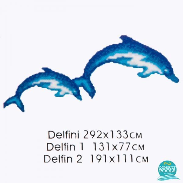 Decoratiune Delfini M101