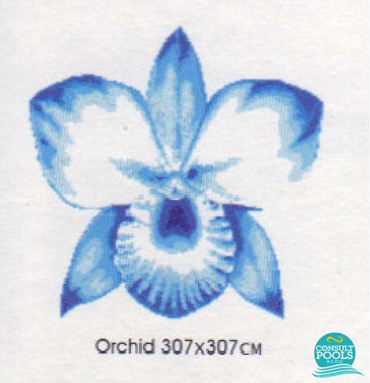 Decoratiune Orhideea M102