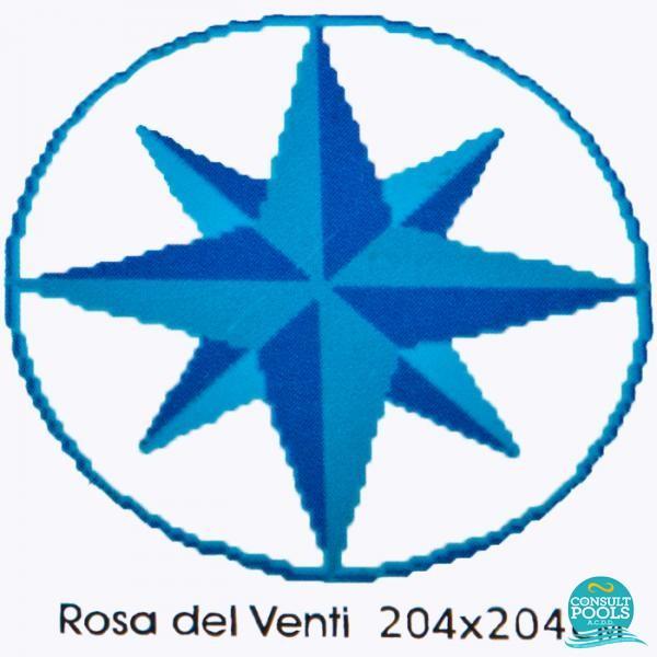 Decoratiune Rosa del Venti M102