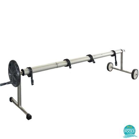Derulator prelata piscina inox AISI 304 lungime 5.0 - 6.5 m