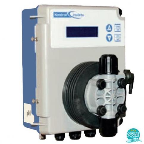 Dozator Regulator de pH 0 - 14, cu bobina Kontrol Invikta Seko