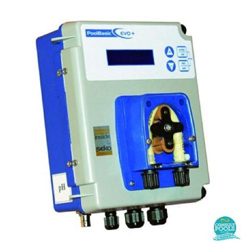 Dozator Regulator de pH 0 - 14, PoolBasic Plus Seko