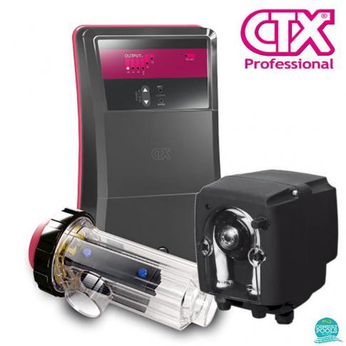 Electrolizor de sare CTX Go Salt-30pH, volum de apa 120 - 140 mc, pompa dozatoare pH, CTX Professional Spania