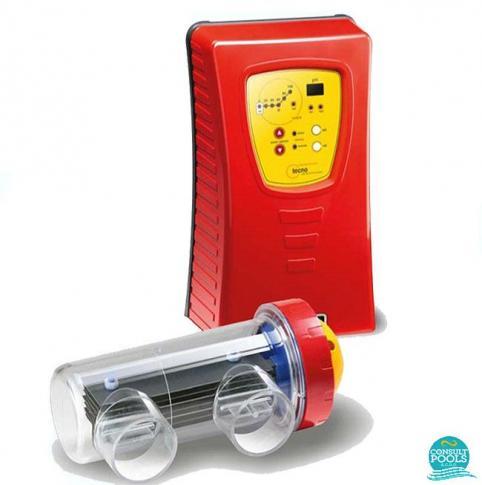 Electrolizor de sare Idegis cu ph integrat model Tecno DT-40PH 160 mc