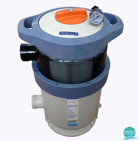 Filtru piscina cu cartus Nanofiber 200 - 18 mc/h Astral Pool