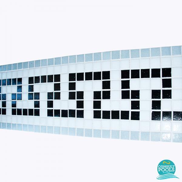 Friza mozaic sticla K68