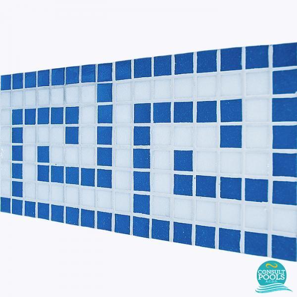 Friza mozaic sticla MB681