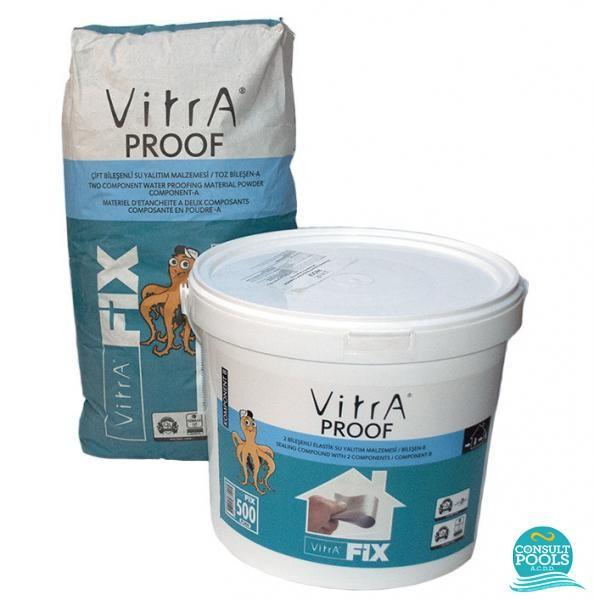 Hidroizolatie piscina VitraFix Proof