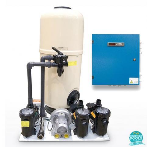 Kit compact pentru Formentera, Coliseum, Olympia, Mirage 40, Lake 40, Astral Pool
