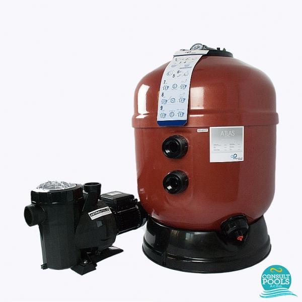 Kit echipament piscina volum 150 mc ATS150