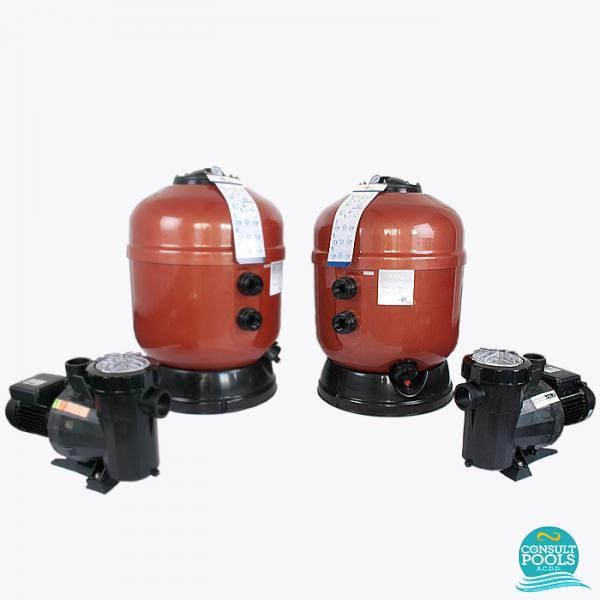 Kit echipament piscina volum 300 mc ATS300