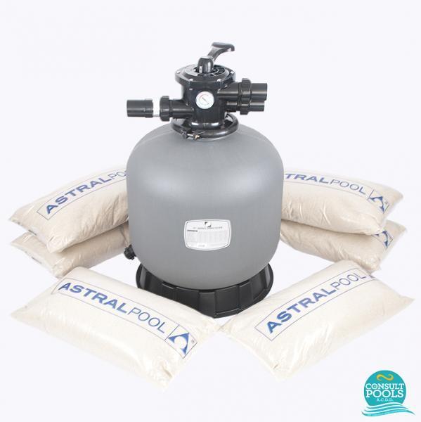 Kit filtru piscina debit 15 mc PZN15