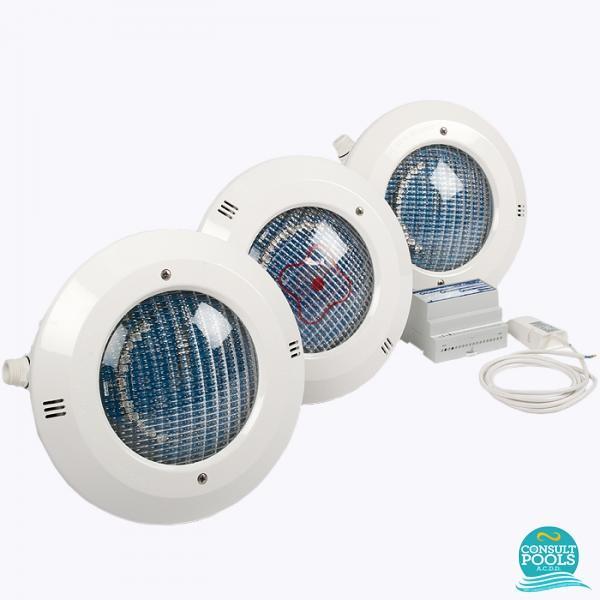Kit iluminare piscina cu LED PAR56 CP3913