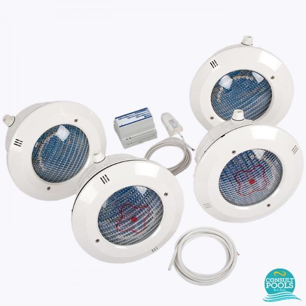 Kit iluminare piscina cu LED PAR56 CP3914CL