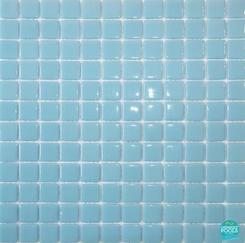 Mozaic piscina albastru culoarea cerului  HVZ011