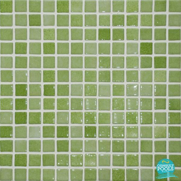 Mozaic piscina Astral Pool Nieblas 2.5 * 2.5 cm 021125Y