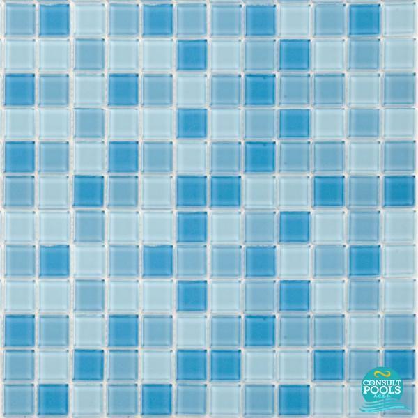 Mozaic piscina mixt albastru Togama PC 2013