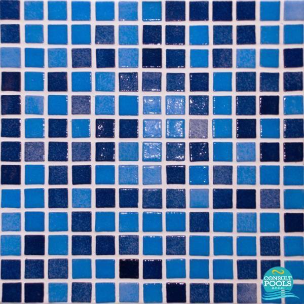 Mozaic piscina Astral Pool Nieblas 2.5 *2.5 cm 54417