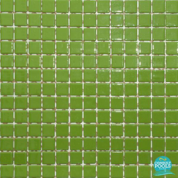Mozaic piscina verde unique Togama 25 25