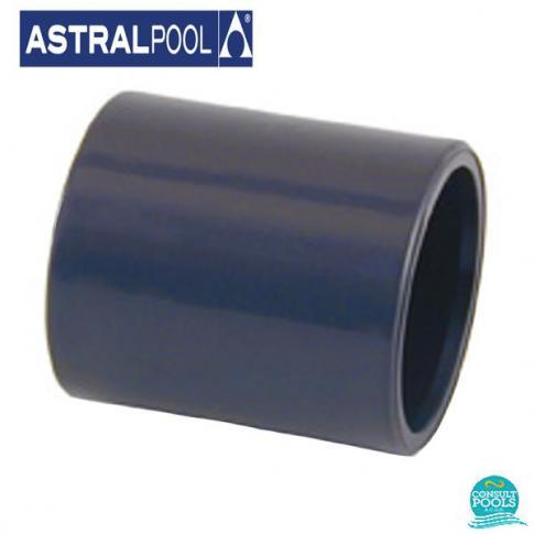 Mufa PVC U D63 lipire lipire Astral Pool
