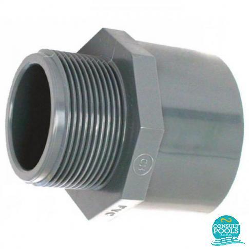 Niplu PVC U D 63 2