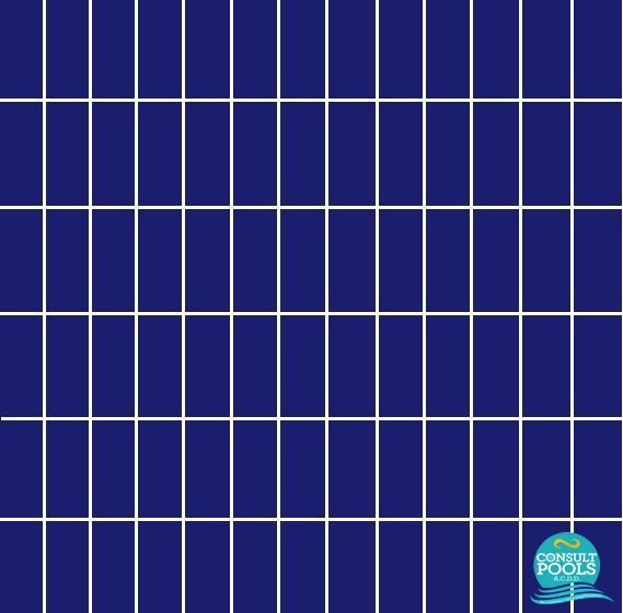 Placi ceramice piscina Blu Electtrico