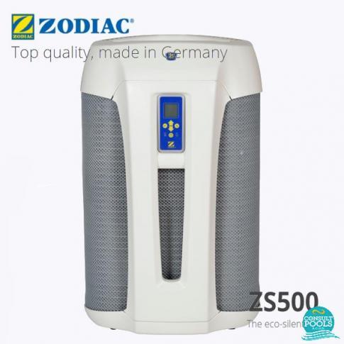 Pompa de caldura piscina reversibila 65 mc, titan, 230 V, 50 Hz, ZS500 MD4 Zodiac